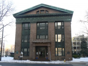 McLevy Hall, Bridgeport (State Street side)