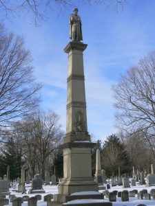 Knight Hospital Monument, Evergreen Cemetery