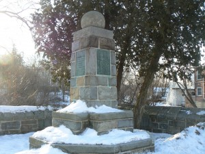 Governors' monument, Milford