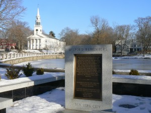 9-11 monument, Milford