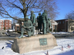 World War II monument, Milford