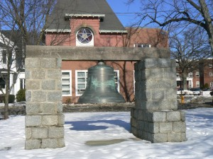 Firefighters' monument, Milford