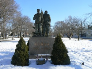 Korea and Vietnam memorial, Milford
