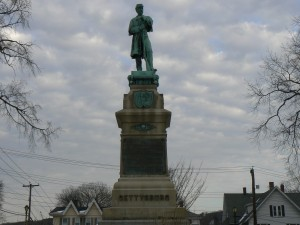 Soldiers' Monument, Derby