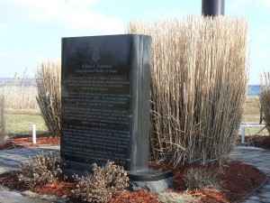 William A. Soderman MOH memorial, West Haven