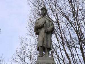 Soldiers' Monument, Naugatuck