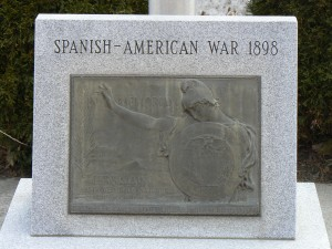 Spanish-American War monument, Naugatuck