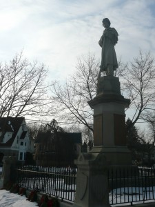 The Soldiers' Monument, Norwich