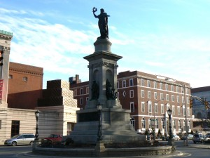 Soldiers' Monument, Waterbury