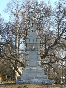 Soldiers' and Sailors' Monument, Greenwich
