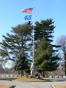 Veterans' Memorial Flagpole, Darien