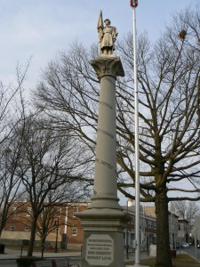 Soldiers' Monument, Danbury