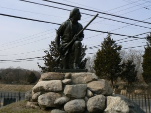 Minuteman Monument, Westport