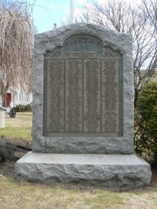 Roll of Honor, Thomaston