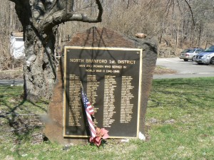 World War II Monument, North Branford