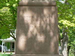 Civil War Monument, Northfield
