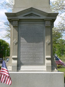 Soldiers' Monument, Woodbury