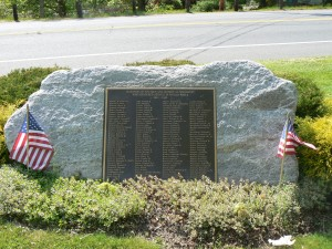 World War II Monument, Woodbury