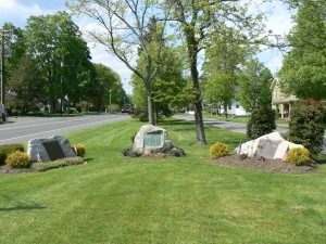 World War I and II monuments, Woodbury