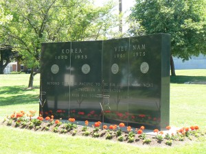Korea and Vietnam Memorial, Middletown