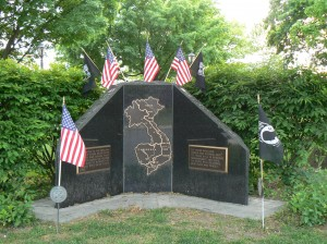 Vietnam  Monument, Pittsfield, Mass.