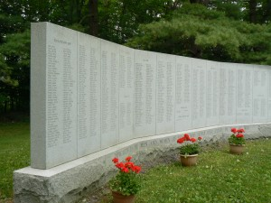 Soldiers' Monument, Sharon