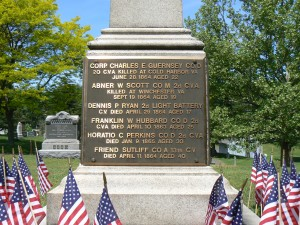 Soldiers' Monument, Terryville