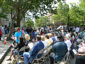 World War II Memorial Dedication, Bridgeport