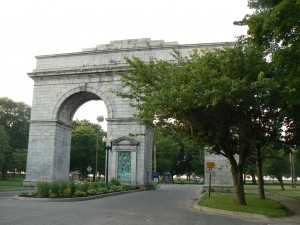 Perry Memorial Arch, Bridgeport