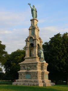 Soldiers' and Sailors' Monument, Bridgeport
