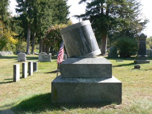 Mustered Out Monument, Litchfield