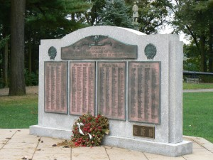 World Wars Memorial, Seymour