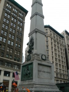 William Jenkins Worth monument