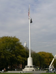 World War Memorial Flagpole, New Haven