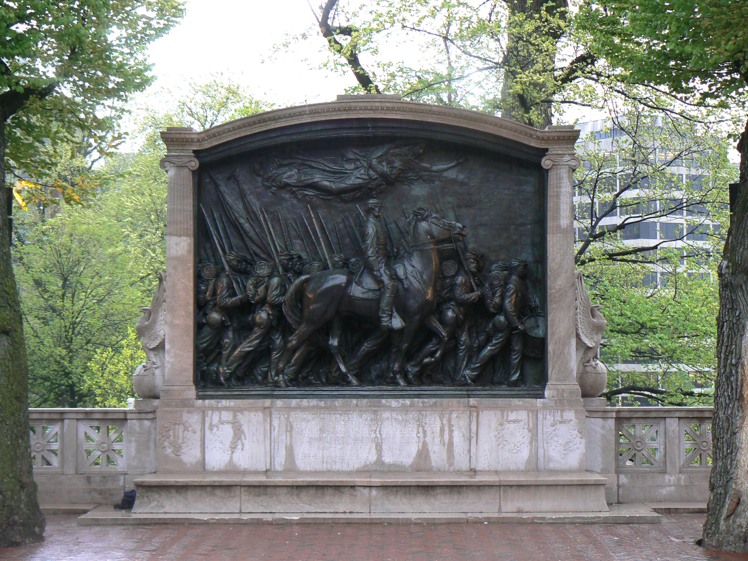 Figure 4. Saint-Gaudens Shaw Memorial.