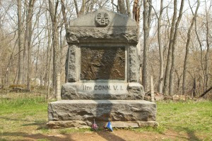 CT 11th Regiment Monument, Antietam