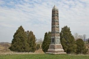CT 16th Regiment Monument, Antietam