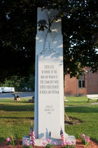 Korea and Vietnam Monument, Plainville