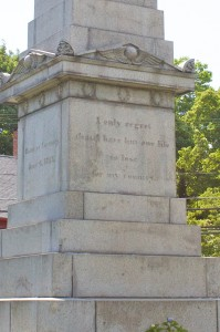 Nathan Hale Monument, Coventry