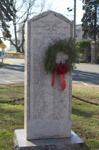 War Memorials, Stony Creek