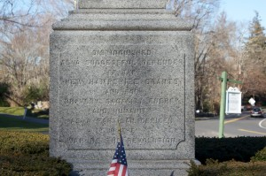 Seth Warner Monument, Roxbury