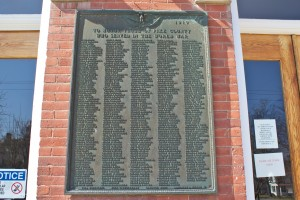 World War Honor Roll, Milford, PA