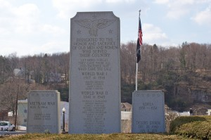 Veterans Memorials, Weatherly, PA