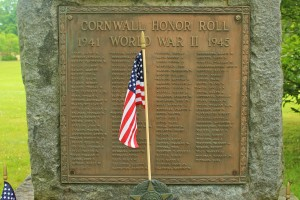 World War II Honor Roll, Cornwall
