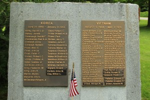 Korea and Vietnam Honor Rolls, Cornwall
