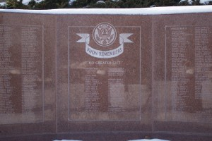 Veterans Memorial, Avon